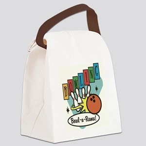 """Bowl-a-Rama"" Canvas Lunch Bag"