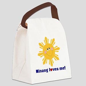 Philippine Sun Canvas Lunch Bag-Ninang