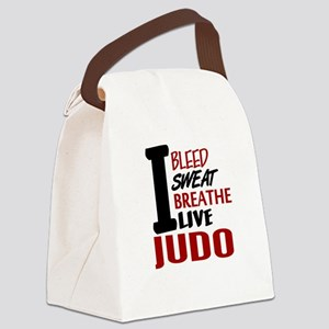 Bleed Sweat Breathe Judo Canvas Lunch Bag