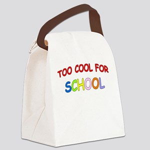 TOO COOL FOR SCHOOL Canvas Lunch Bag