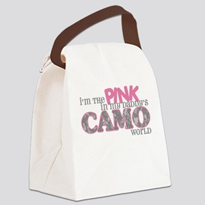 I'm the pink (ACU) Canvas Lunch Bag