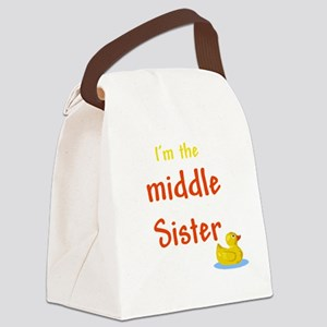 Middle Sister Canvas Lunch Bag
