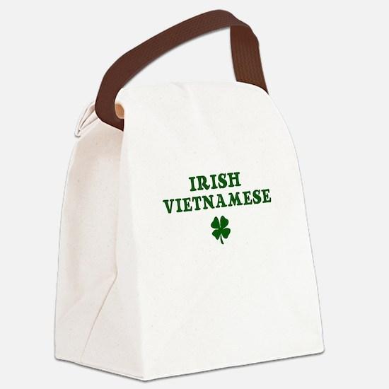 Irish Vietnamese Canvas Lunch Bag
