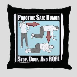 ROFL Throw Pillow