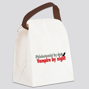 Phlebotomist By Day Canvas Lunch Bag