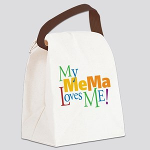 Love Grandmother Canvas Lunch Bag