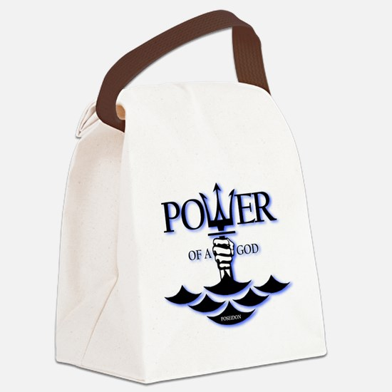 Power of Poseidon Canvas Lunch Bag