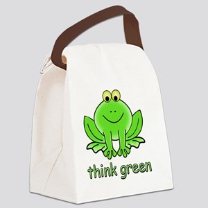 Think Green Frog Canvas Lunch Bag
