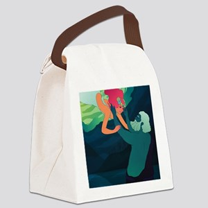 Persephone and Hades Canvas Lunch Bag