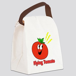 The Flying Tomato Canvas Lunch Bag