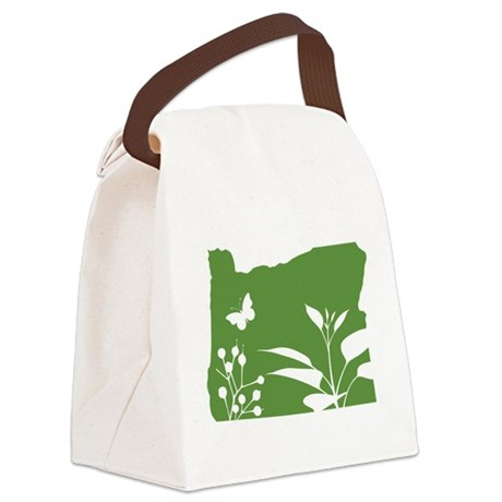 Green Oregon Canvas Lunch Bag