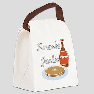 Pancake Junkie Canvas Lunch Bag