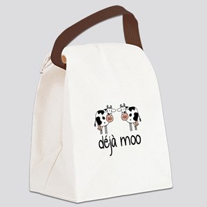 déjà moo Canvas Lunch Bag
