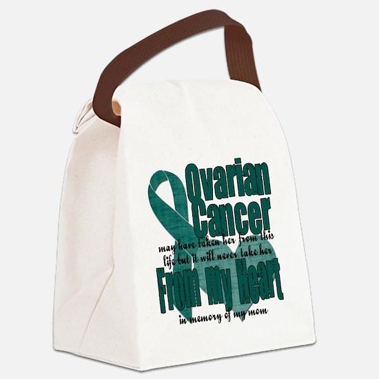 Ovarian Cancer Mom Canvas Lunch Bag