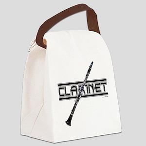 Clarinet Canvas Lunch Bag