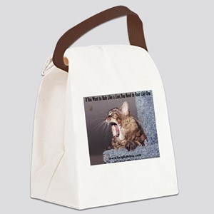 Roar Like a Lion Canvas Lunch Bag