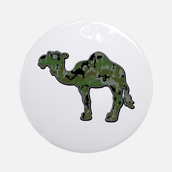 CamelFlage Ornament (Round)
