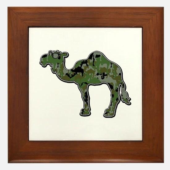 CamelFlage Framed Tile