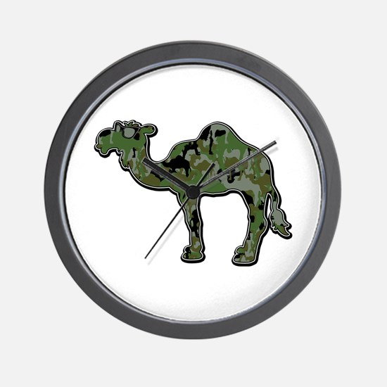 CamelFlage Wall Clock
