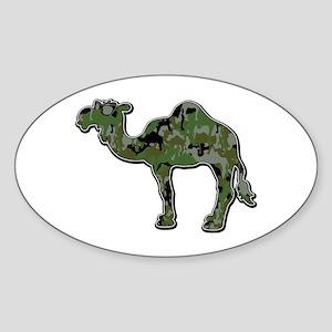CamelFlage Sticker (Oval)