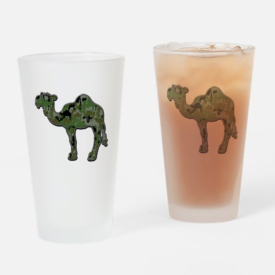 CamelFlage Drinking Glass