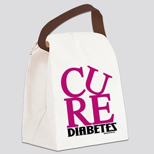 Pink Cure Canvas Lunch Bag