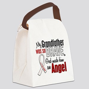 Angel 1 GRANDFATHER Lung Cancer Canvas Lunch Bag