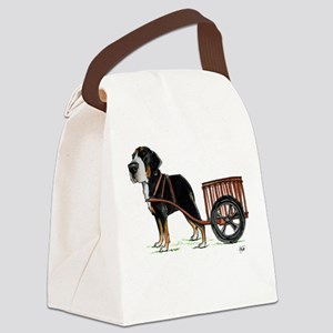 Greater Swiss Canvas Lunch Bag