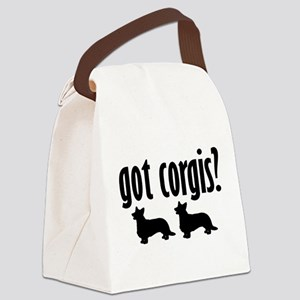 Got Corgis? (2) Canvas Lunch Bag