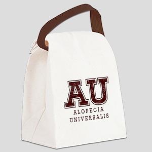 AU Alopecia Universalis Maroo Canvas Lunch Bag