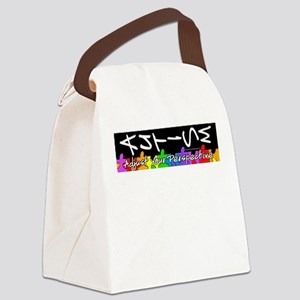 Adjust Your Perspective Canvas Lunch Bag