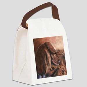 Irish Setter Canvas Lunch Bag