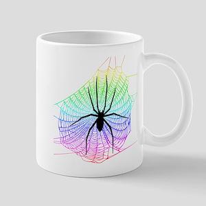 Spider Rainbow web Mug