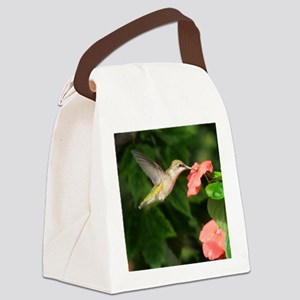 Hummingbird Canvas Lunch Bag
