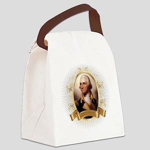 George Washington Portrait Cl Canvas Lunch Bag
