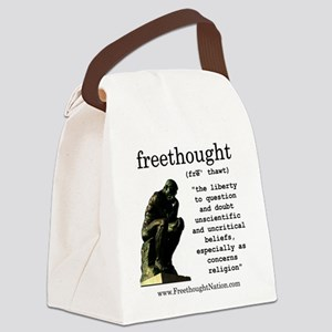 Thinker Canvas Lunch Bag