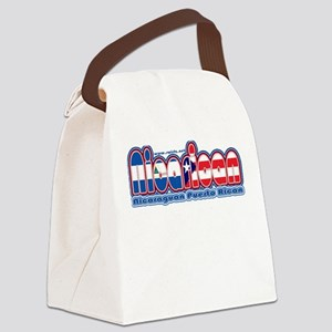 NicaRican Canvas Lunch Bag