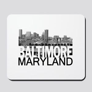 Baltimore Skyline Mousepad