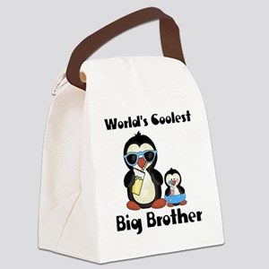 Coolest big brother penguin Canvas Lunch Bag