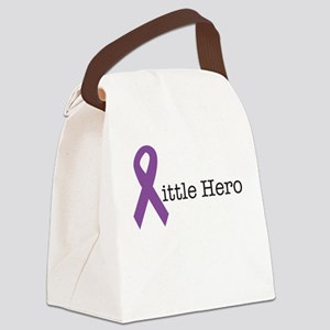 Little Hero - Epilepsy Canvas Lunch Bag