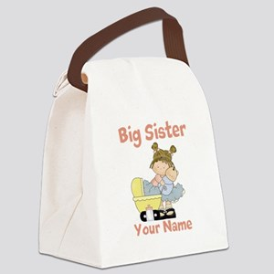 Big Sister Custom Canvas Lunch Bag