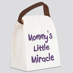 Little MIracle Canvas Lunch Bag