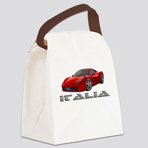 Ferrari Italia Canvas Lunch Bag