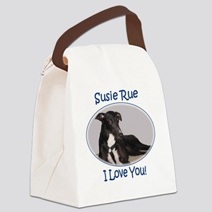 Susie Rue Canvas Lunch Bag