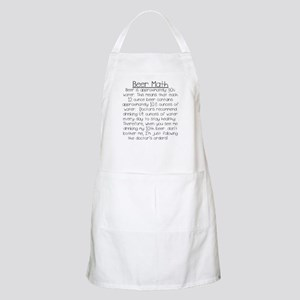 Beer Math Apron
