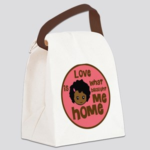 African Girl Love Brought Me Home Kids Light T-Shi