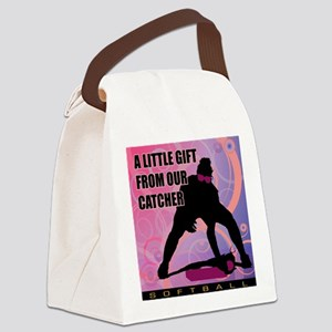 2011 Softball 50 Canvas Lunch Bag