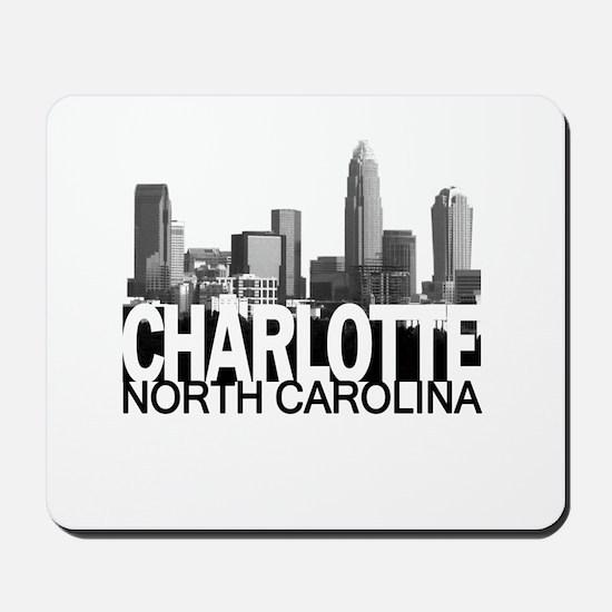 Charlotte Skyline Mousepad