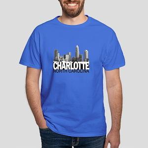 Charlotte Skyline Dark T-Shirt