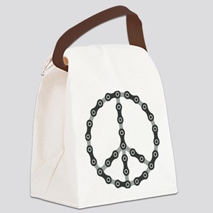 Peace Chain Canvas Lunch Bag